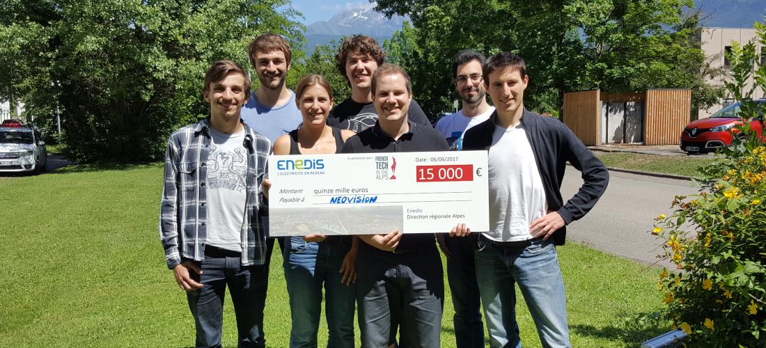 Neovision remporte le concours Enedis