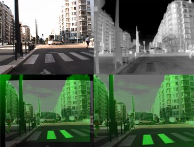 Calibration infrarouge visible