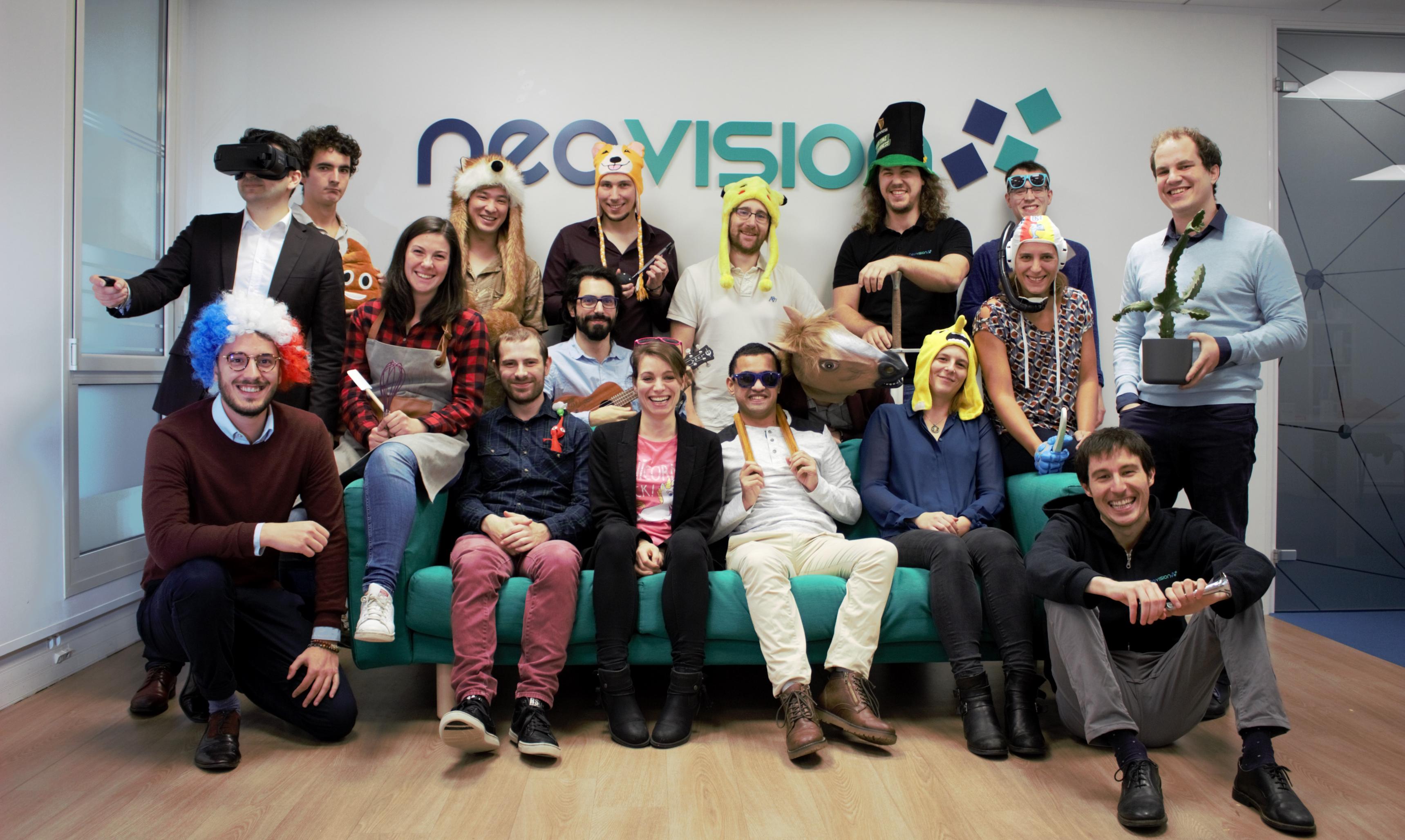 Equipe Neovision 2020 Décalée
