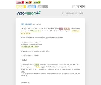 NLP - TALN - Anonymisation de document