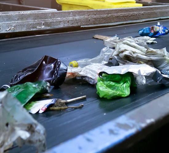 Tri de déchets automatisé